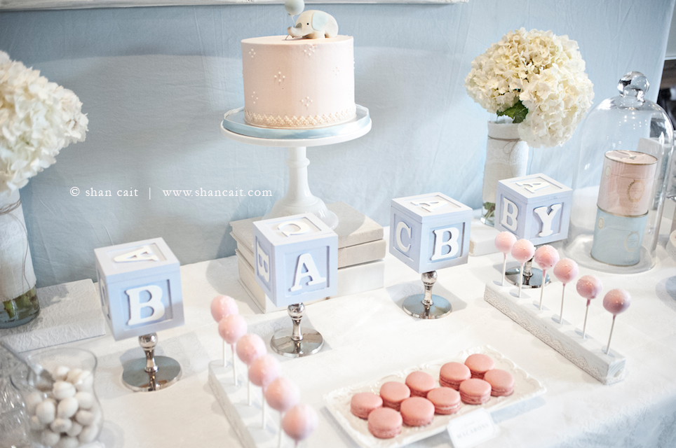 Elegant baby shower decoration ideas Elegant baby shower decorations